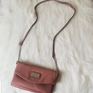 Nine West Pink Mauve Crossbody bag/purse